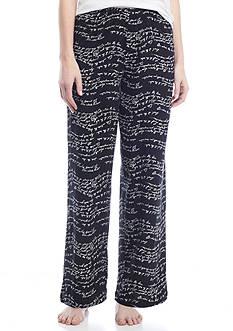 HUE Wavy Script Pajama Pant
