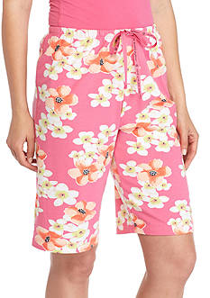 HUE® Tropical Nectar Bermuda Shorts