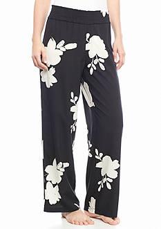 HUE Serene Floral Challis Pants