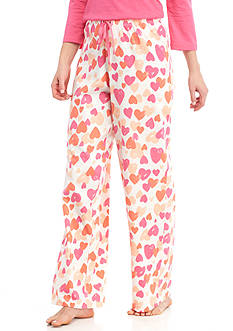 HUE Simple Heart Pajama Pant