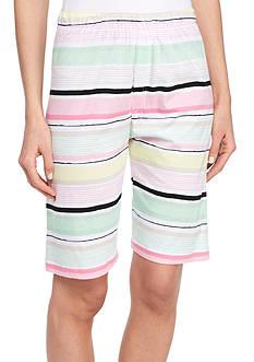 HUE Vacay Stripe Bermuda Short