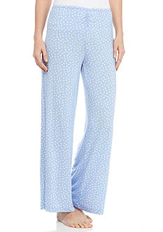 HUE Flower Dot Pajama Pant