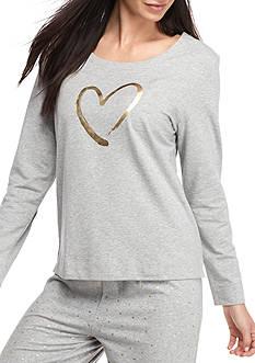 HUE Heart of Gold Sweatshirt