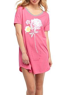 HUE Short Sleeve Sleepshirt