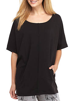 HUE French Terry Crop Poncho