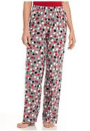 HUE® Plus Size Twinkie Dot Pajama Pants