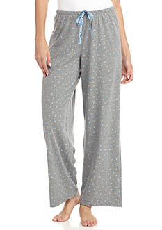 HUE Plus Size Mini Scribble Pajama Pant