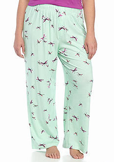 HUE Plus Size Flutterbug Pants
