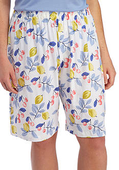 HUE Plus Size Fruit Salad Bermuda Short