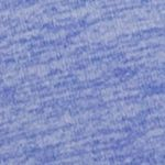 Juniors Sports Bras: Deep Perwinkle Jockey Strappy Melange Plunge Sports Bra - 8875