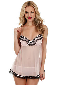 Jezebel Ruffles Galore Babydoll Top