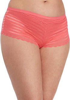 New Directions® Unlined Geo Lace Hipster-Plus Sizes-H195985X