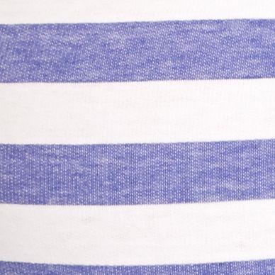 Juniors Pajama Pants: Villa Blue Stripe Honeydew Intimates Undrest Shorts - 367670