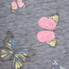 Juniors Pajama Pants: Alter Ego Butterflies Honeydew Intimates Undrest Joggers - 367748