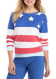 Honeydew Intimates Lounge Lover USA Sweatshirt