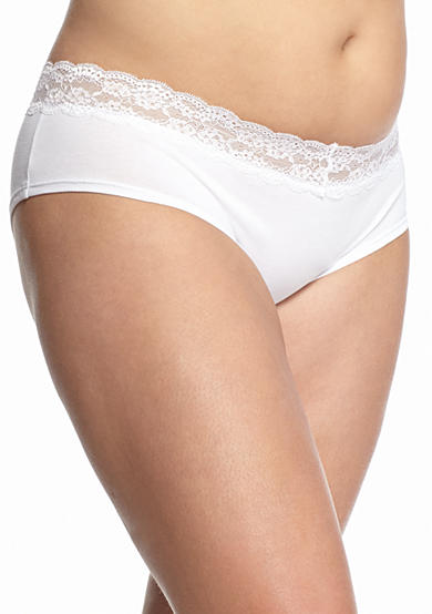 Honeydew Intimates Plus Size Becca Lace Cotton Hipster - 590475X