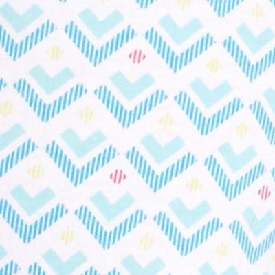 Juniors Pajama Pants: White Geo Honeydew Intimates Lay Over Short - 730668