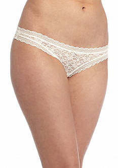 Free People Dreams Come True Lace Thong