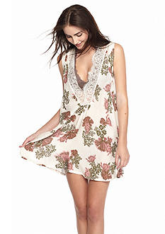 Free People So You Say Floral Slip -  OB463444