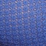 White Modern Bras: Blue Free People Geo Net Strappy Bra - OB503424