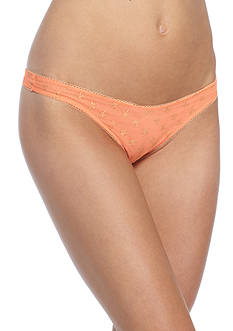 Free People Star Mesh Thong- OB568232