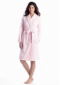 Kim Rogers® Waffle Knit Shawl Robe
