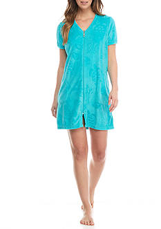 Kim Rogers® Short Sleeve Terry Robe