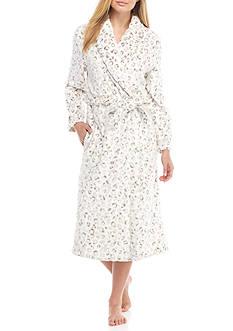 Kim Rogers Animal Burnout Wrap Robe