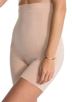 SPANX® Plus Size On Core High-Waist Mid Thigh Short - PS1915