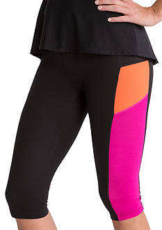 SPANX Color Block Compression Knee Pant - SA0515
