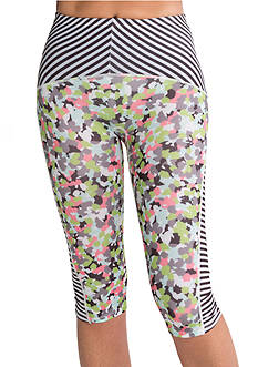 SPANX Compression Print Mix Knee Pant - SA0615