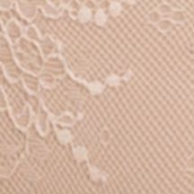 Plus Size Panties: Soft Nude SPANX Undie-tectable Lace Thong - SP0615