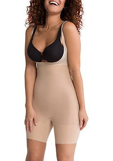 SPANX® Shape My Day Open-Bust Mid-Thigh Bodysuit - SS5615