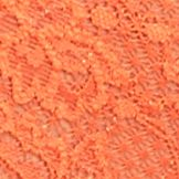 Luxury Lingerie: Flame Orange Cosabella Never Say Never Lace Hot Pant - NEVER07ZL