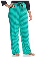 New Directions® Plus Size Striped Knit Pants