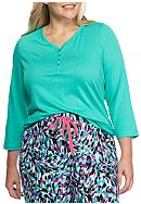 New Directions® Plus Size Three Quarter