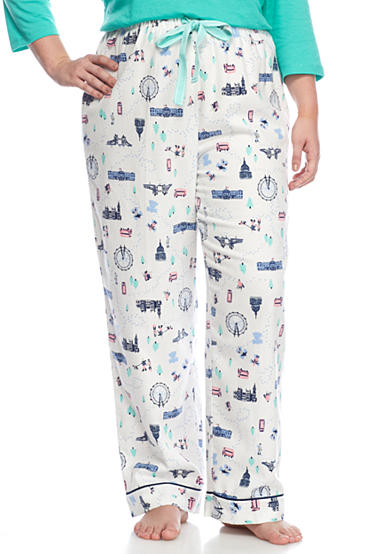 New Directions® Plus Size London Flannel Pant