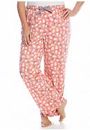 New Directions® Plus Size Coral Dot Mink Pant