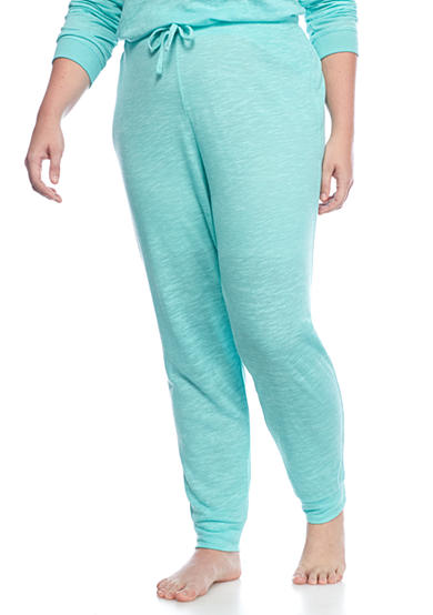 New Directions® Plus Size Burnout Jogger