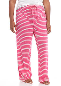New Directions® Plus Size Stripe Pajama Pant