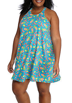New Directions Plus Size Juicy Fruits Swing Chemise