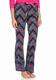 New Directions Watercolor Chevron Knit Pant