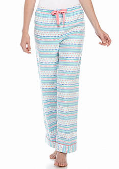 New Directions Flannel Stripe Pajama Pants