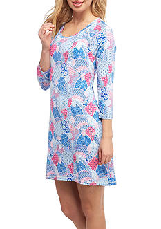 New Directions® Printed Jersey Sleepshirt