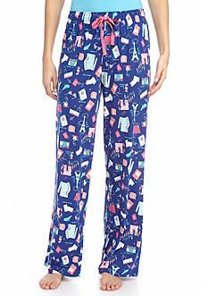 Paris Style Knit Pajama Pant