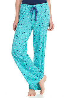 New Directions Dot Pajama Pant