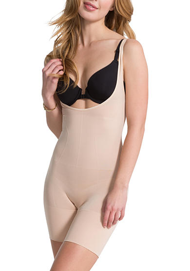 ASSETS® Red Hot Label™ BY SPANX® Flat Out Flawless Open-Bust Bodysuit - FS5415
