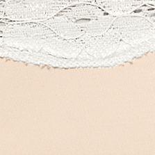Women's Bikini Underwear: Cuban Sand/Ivory New Directions Cross Dye Micro Bikini - B91192P