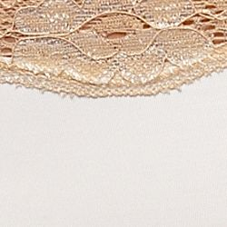 Women's Bikini Underwear: Ivory/Sand New Directions Intimates Cross Dye Micro Bikini - B91192P