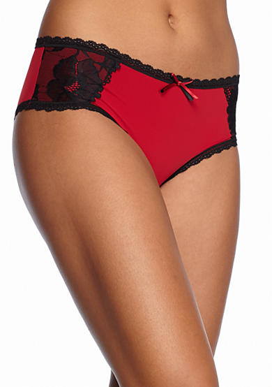 New Directions® Intimates Solid with Lace Inserts Hipster -  BG91282P